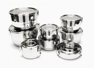 Stainless Airtight Storage Containers  sc 1 st  Organic Grace & Food Storage |Healthy People - Healthy Planet