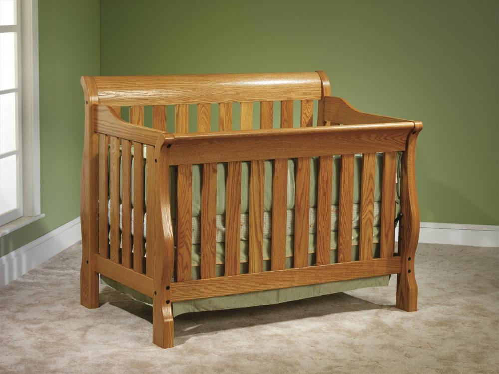 Solid Wood Cribs Organic Grace