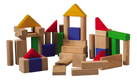 50 Wooden Block Set |Healthy People