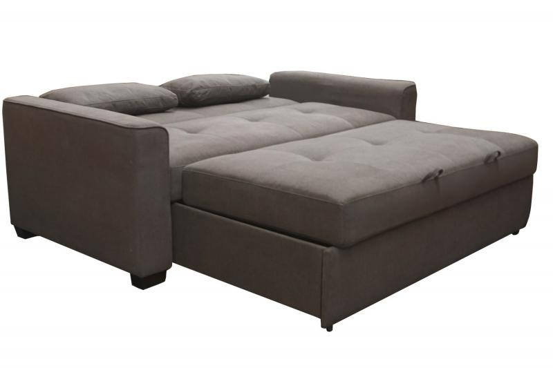 Natural Latex Upholstered Sofa Bed